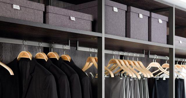 Quanto bella è la cabina armadio?