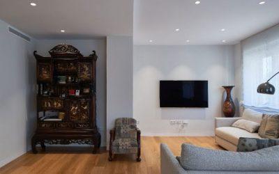 Ristrutturazione per una residenza contemporanea